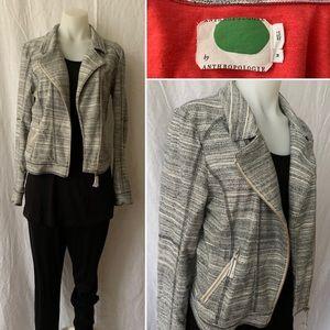 Designer Anthropologie Long Sleeve MOTO Jacket